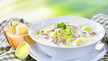 Hackfleisch-Lauch-Suppe: So gelingt sie garantiert