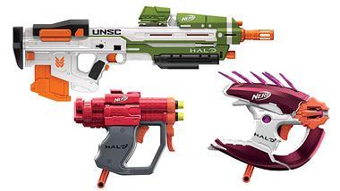 Halo: Eigene Nerf-Guns-Serie zum Ego-Shooter vorgestellt