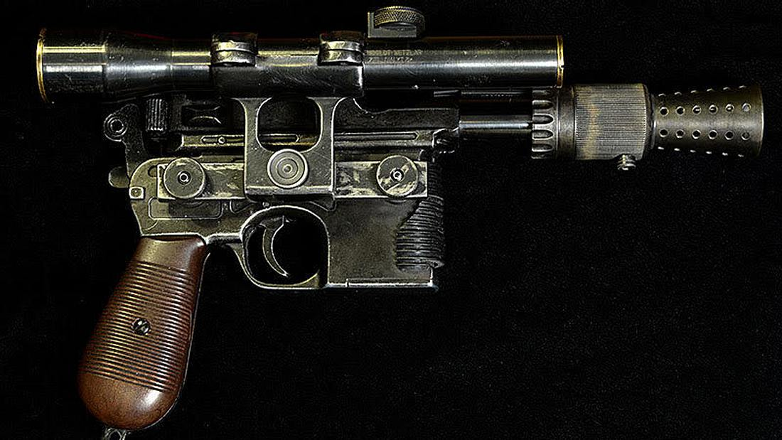 DL-44-Blasterpistole: Todd Coyle hat eine Replika von Han Solos Handfeuerwaffe angefertigt