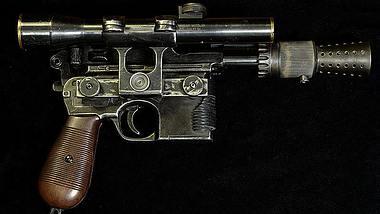 Star-Wars-Replikat: Mann baut Han Solos Blasterpistole nach