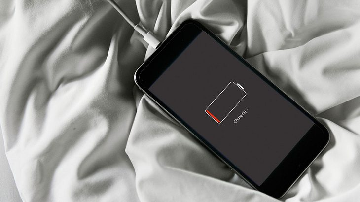 Handy nicht über Nacht laden