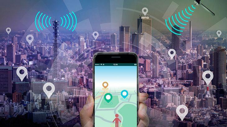 Smartphone als GPS Tracker