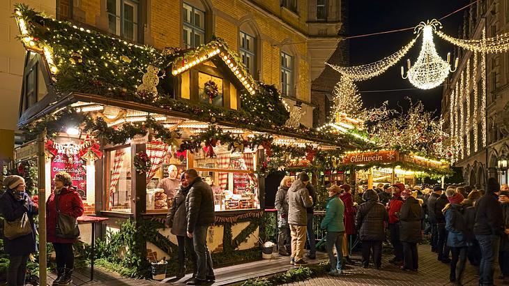 Weihnachtsmarkt in der Altstadt Hannover