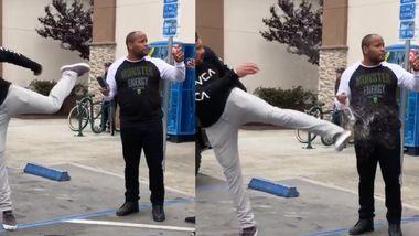 Mann tritt UFC-Champ den Drink aus der Hand – dessen Reaktion ...