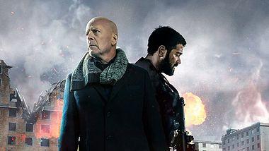 Bruce Willis und Jesse Metcalfe in Hard Kill