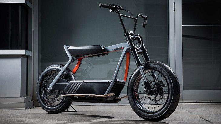 Harley-Davidson stellt Prototyp für Elektro-Motorrad vor.