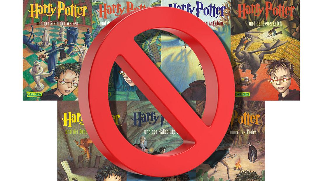 Harry-Potter-Bücher verboten