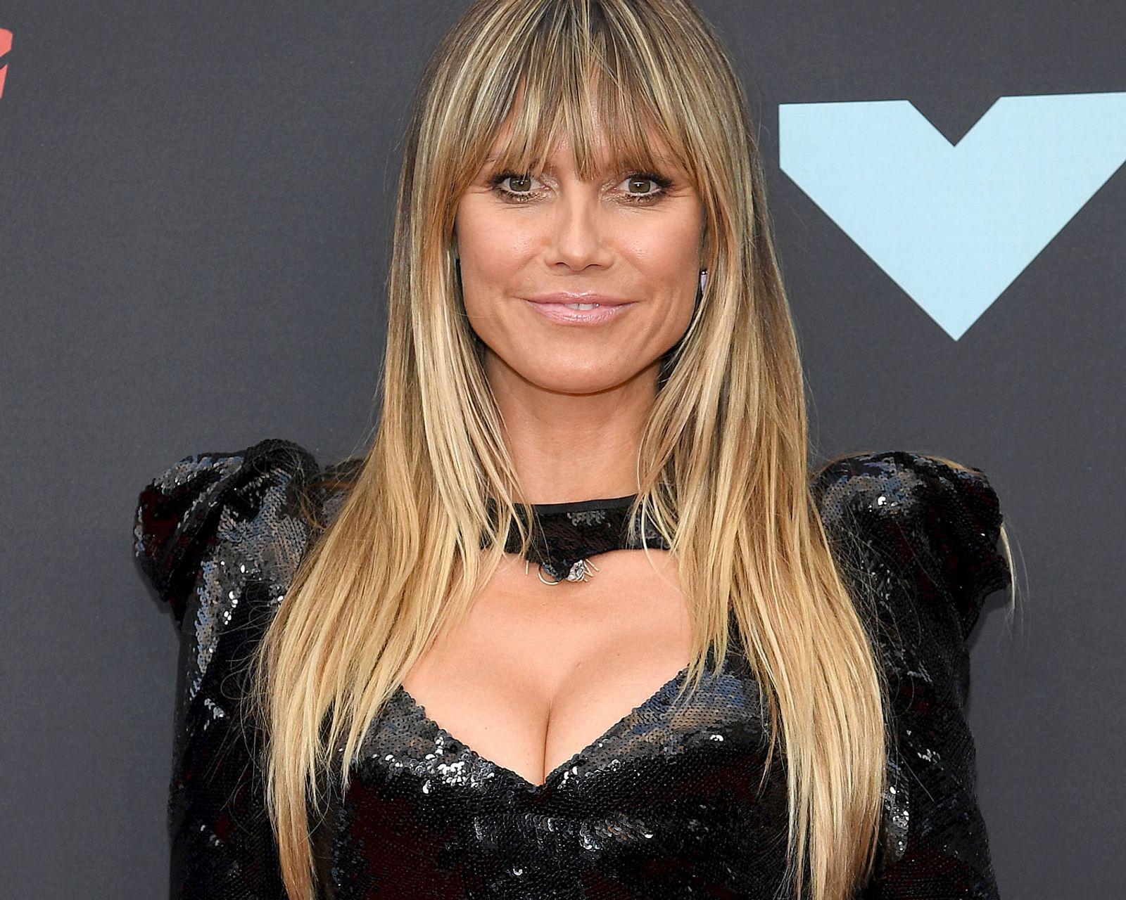 Nackte Brüste in der Badewanne: Heidi Klum kann es einfach