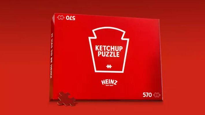 Heinz Ketchup-Puzzle - Foto: Heinz