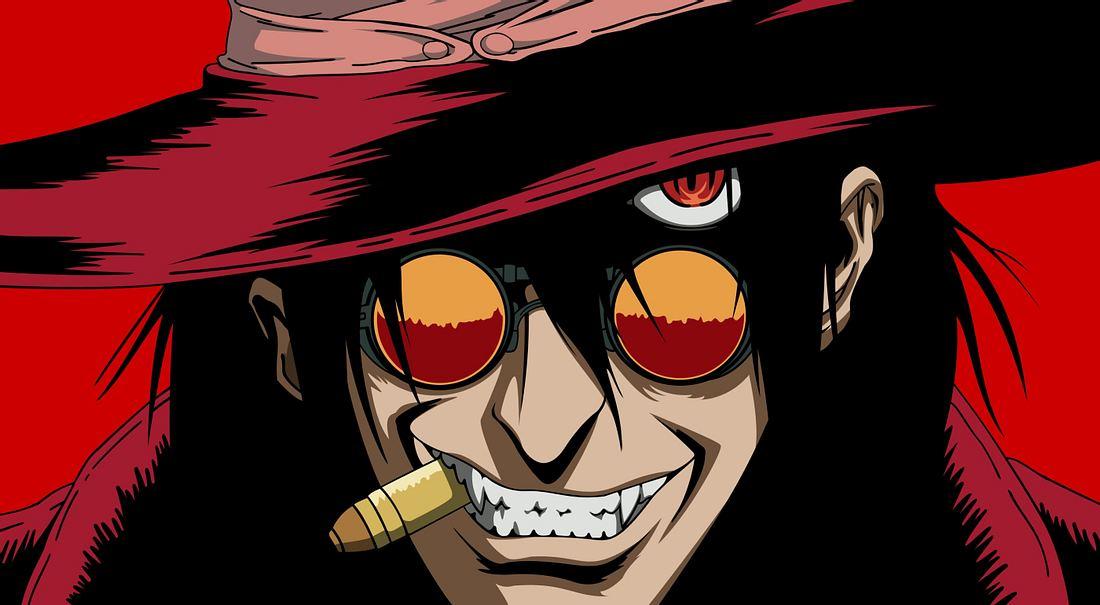 Der Vampir Alucard aus Hellsing