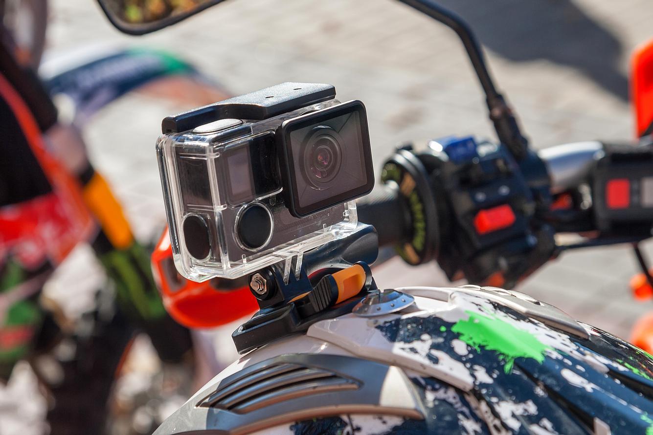 Helmkamera Motorrad