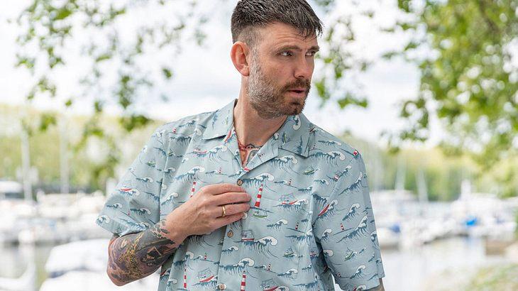 Hawaiihemd im Nordsee-Look