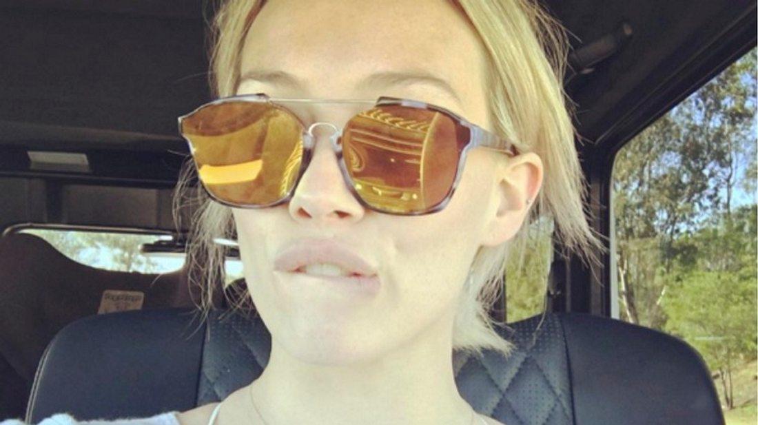 Hilary Duff ist als @Ohheyhilary bei Snapchat aktiv