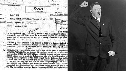 Britisches Magazin behauptet: Adolf Hitler lebt noch - Foto: CIA/getty images