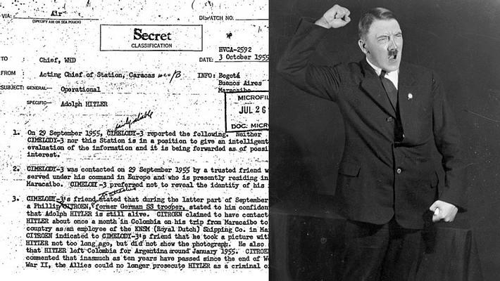 CIA-Akten enthüllen: Adolf Hitler hat den Krieg überlebt