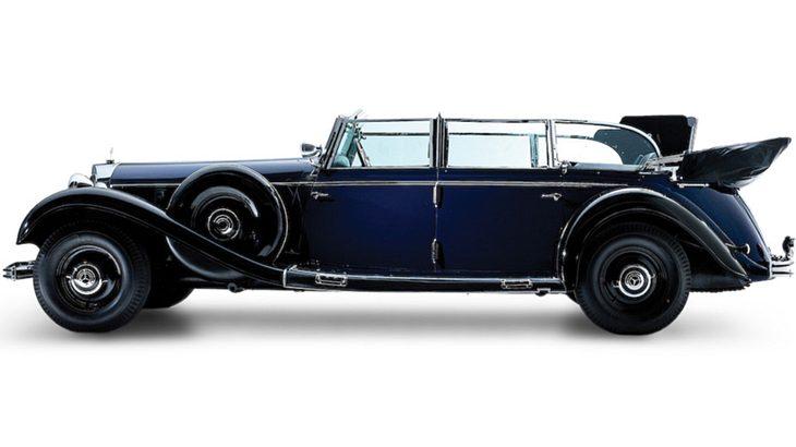 Adolf Hitlers Mercedes-Benz wird versteigert