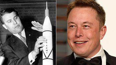 Wernher von Braun, Elon Musk