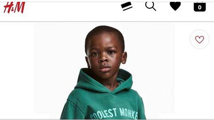 Rassismus-Vorwürfe gegen H&M: Auslöser ist dieses Foto eines schwarzen Jungen