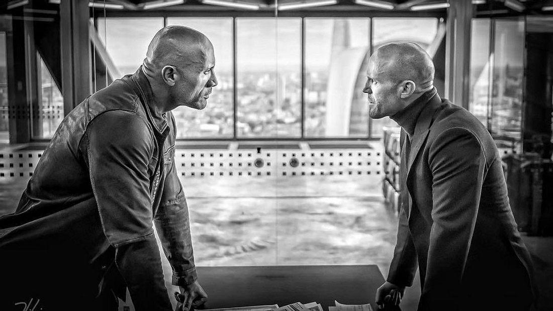 Dwayne Johnson und Jason Statham in Hobbs & Shaw