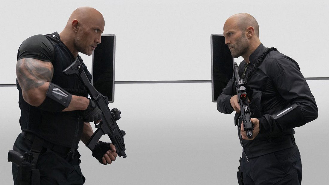 Dwayne The Rock Johnson und Jason Statham in Hobbs & Shaw