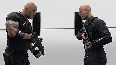 Dwayne The Rock Johnson und Jason Statham in Hobbs & Shaw - Foto: Universal Pictures
