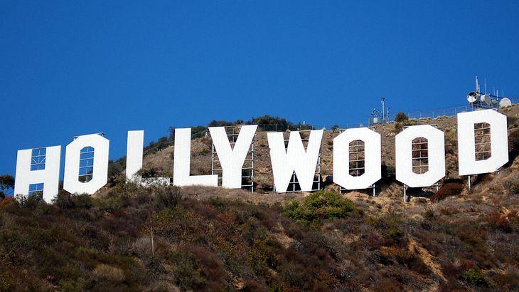 Das Hollywood-Schild in L.A.