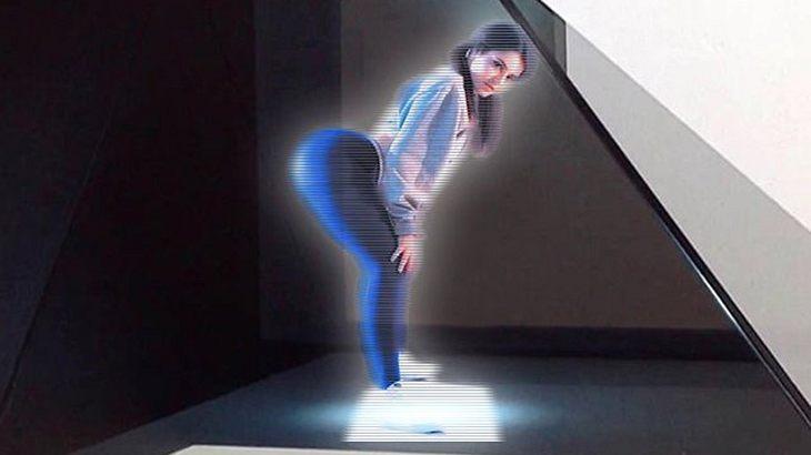 Die US-Erotikwebsite CamSoda hat einen Projektor für 3D-Porno-Hologramme entwickelt