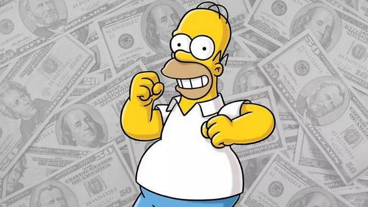 So viel Geld verdient Homer Simpson
