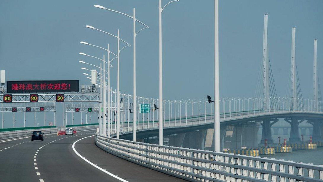 Hong Kong-Zhuhai-Macau Bridge - Foto: Getty Images / Philip Fong