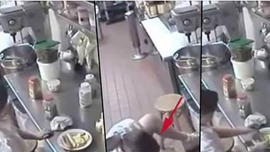Hot Dog in Vagina: Eine Kellnerin nutzt ein Würstchen als Tampon - Foto: YouTube/DL,SBIZARRENEWS