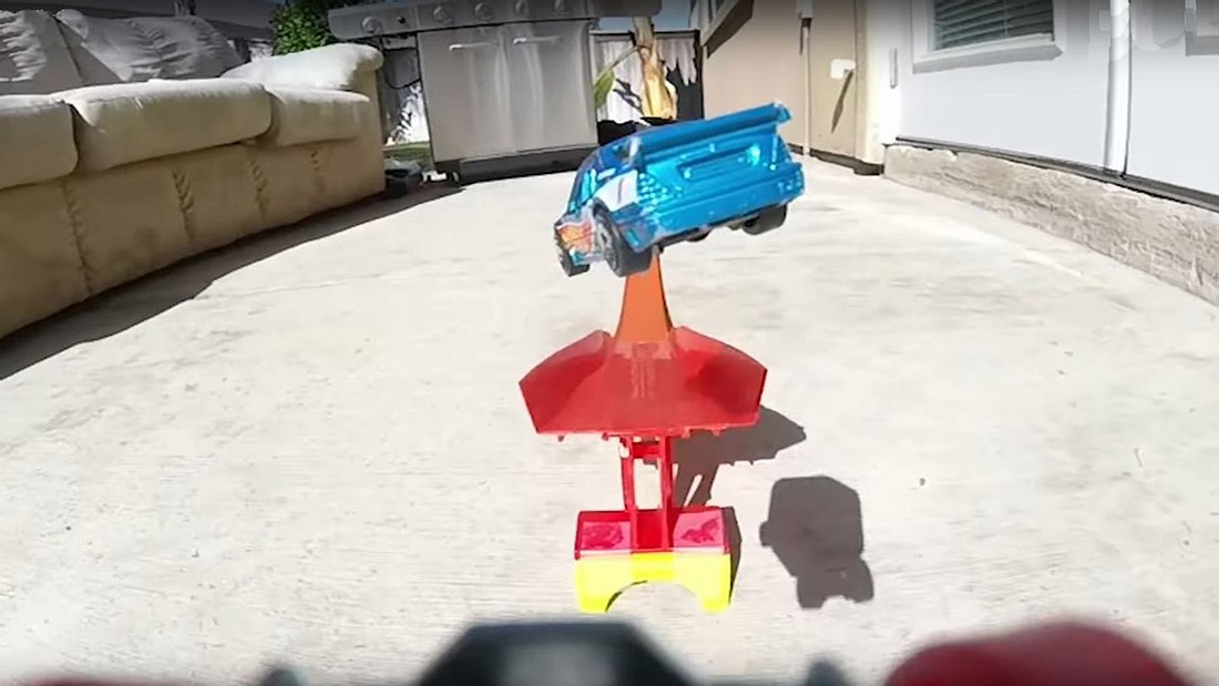 Epische Stunts von Hot Wheels mit GoPro