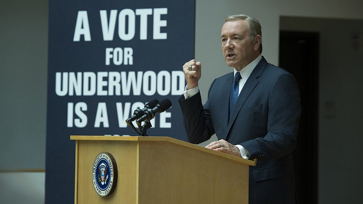 "Neu auf Netflix im Mai: Kevin Spacey als Frank Underwood in ""House of Cards"""