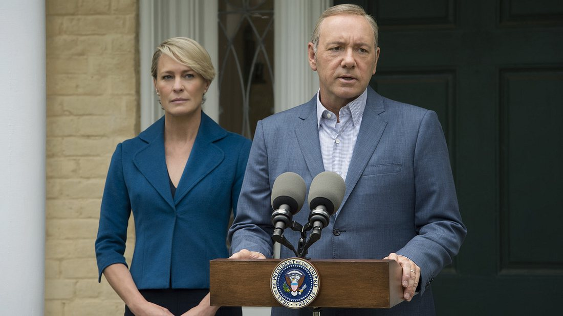 Frank und Claire Underwood in der 5. Staffel House of Cards