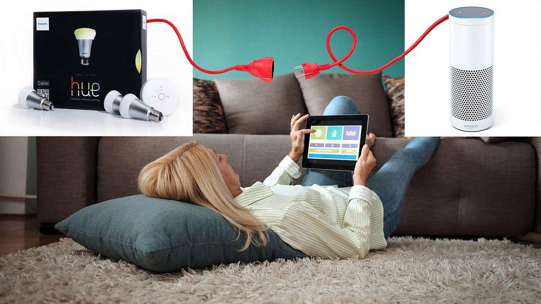 Philips Hue mit Alexa verbinden: So geht's