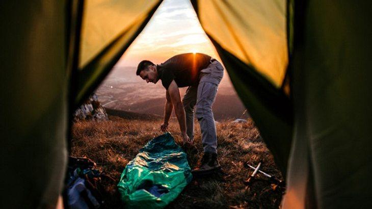 Dein bester Reisebegleiter: der Hüttenschlafsack!