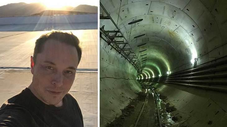 So sieht die Hyperloop-Teststrecke in Kalifornien aus