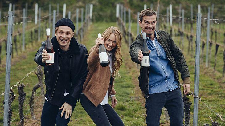 III FREUNDE stehen für easy-to-drink-Weine