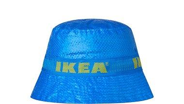 Kultig: Jetzt gibts die blaue Ikea-Tasche als Hut