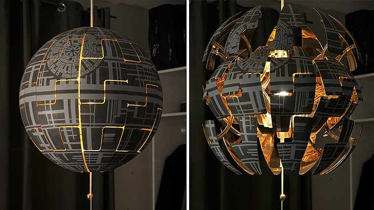 Free Simple Latest Star Wars Todesstern So Bastelst Aus Der Ikea Ps Lampe  Einen Todesstern With Ikea Ps Kupfer With Ikea Hngeleuchte Ps With Ikea ...