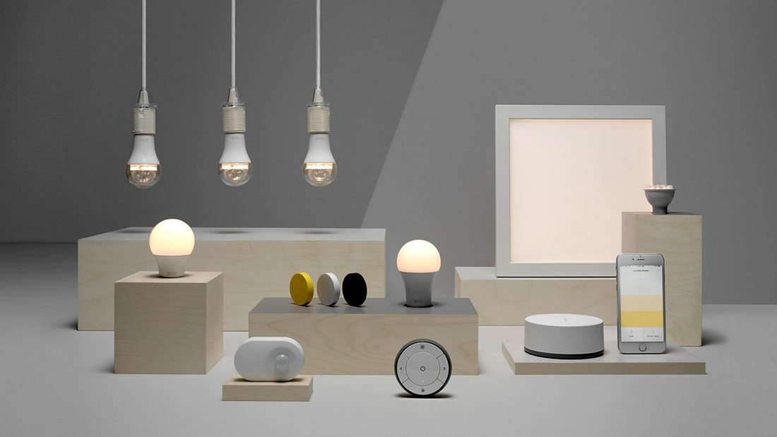 IKEA macht seine Smart-Lighting-Kollektion TRÅDFRI mit Amazons Alexa, Google Assistant und Siri kompatibel