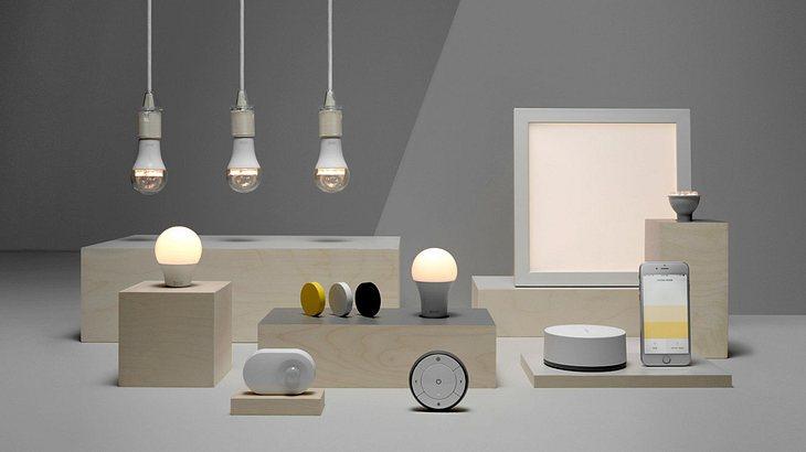 IKEA macht seine Smart-Lighting-Kollektion TRÅDFRI mit Amazons Alexa, Google Assistant und Siri kompatibel
