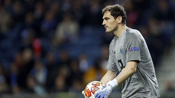 Torwart Iker Casillas