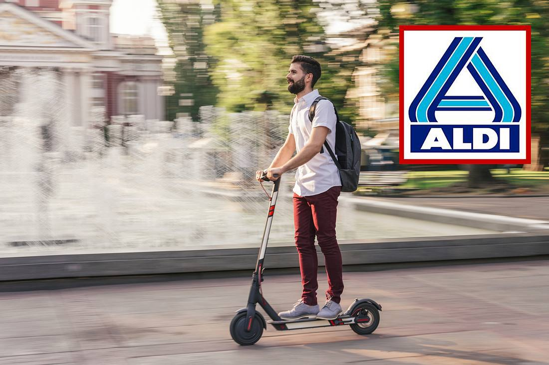 E-Scooter bei Aldi zum Hammerpreis
