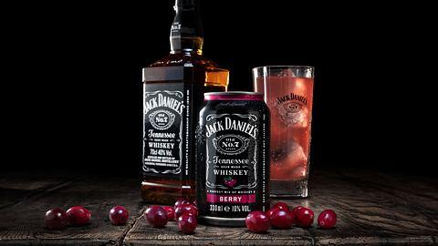 Jack Daniels bringt neues Mixgetränk auf den Markt