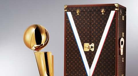 Louis Vuitton und die NBA machen gemeinsame Sache
