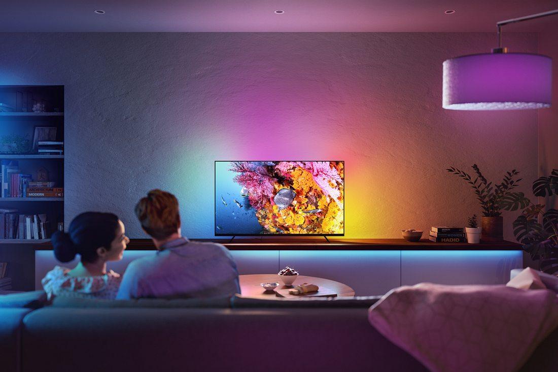 Pressebild zum Philips Hue Play Gradient Lightstrip