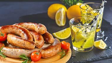 Deutscher Metzger erfindet Gin-Tonic-Bratwurst