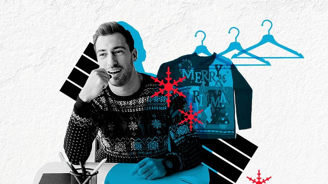 Die coolsten Weihnachtspullover für Männer