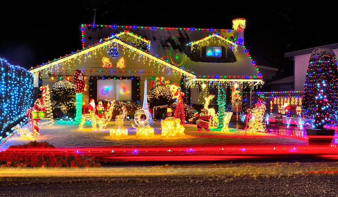 Weihnachtsbeleuchtung (Symbolbild)