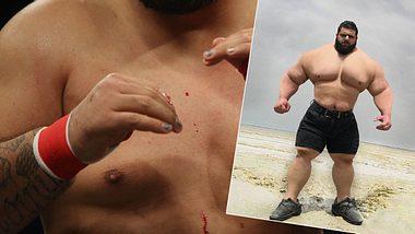Blutkampf! Iranischer Hulk tritt bei Bare Knuckle FC an